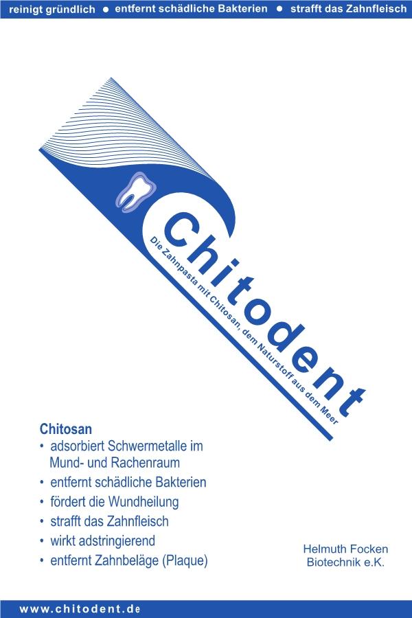 Chitosan in der Zahnpasta Chitodent®