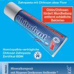 Chitodent bietet Chitosan und Mineralkomposit in Kombination beim Zähneputzen