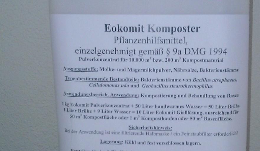 Eokomit Dr. Holzinger Helmuth Focken Biotechnik e.K.