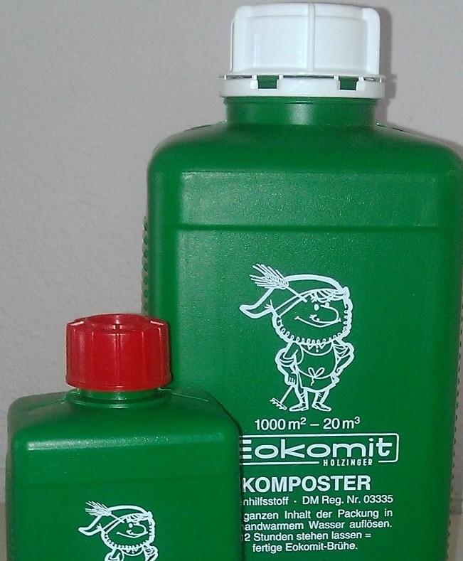 Eokomit contient des bactéries spécifiques pour compostage organique