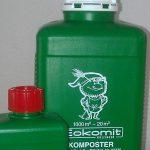 Eokomit ein feines lösliches Molkepulver, angereichert mit verschiedenen Mikroorganismen. Seine Zusammensetzung von Nährstoffen entspricht den Anforderungen der Mikroorganismen.