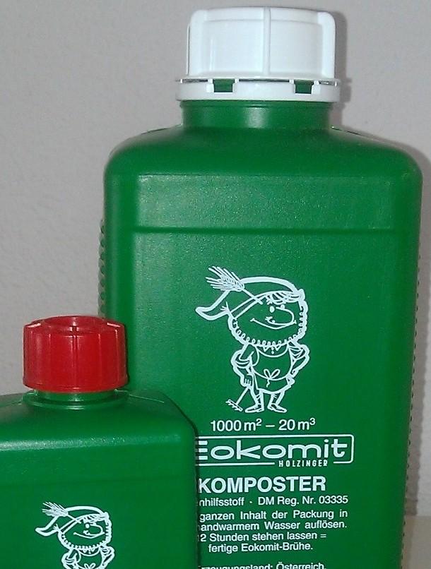 Eokomit .Bakterien verwandeln organischen Abfall zu Humus