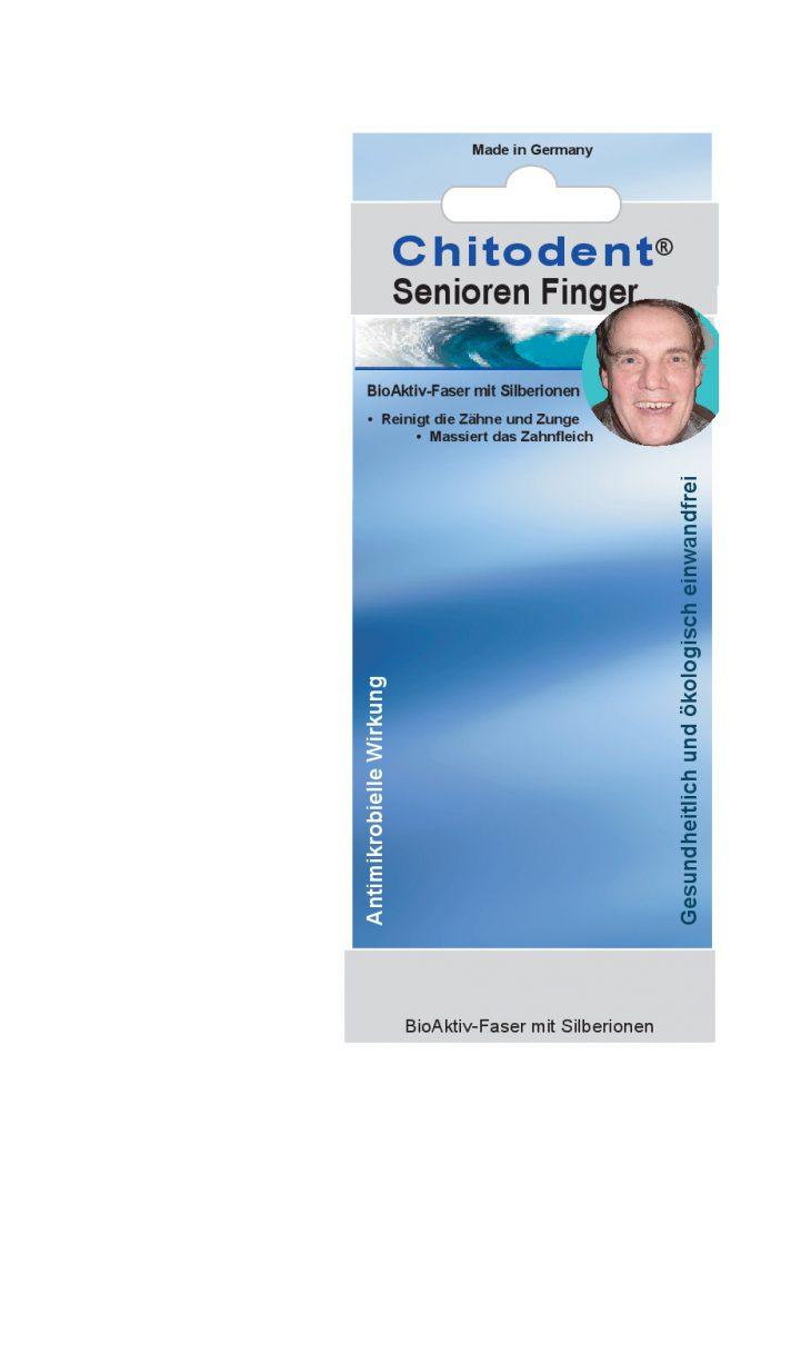Citodent Seniorenfinger, die Fingerzahnbürste für Senioren