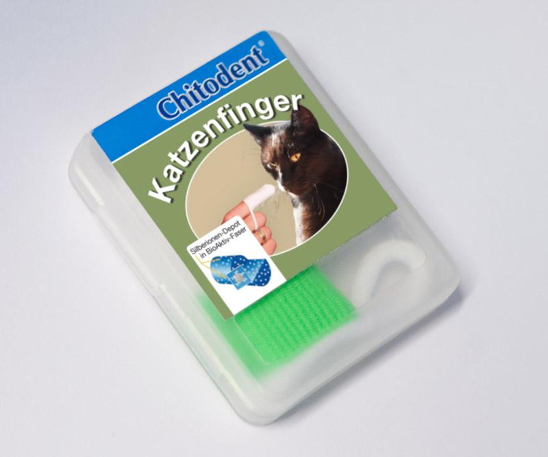 ®Fingerzahnbürste für den Hund und die Katze aus Mikrofaser