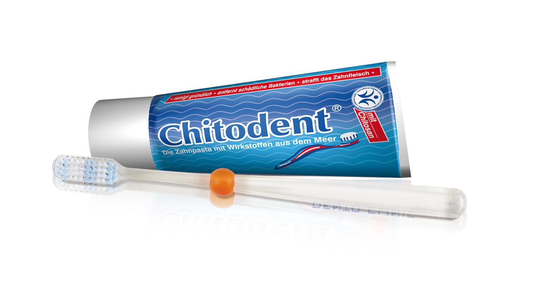 Zahnbürste mit Silberionen.