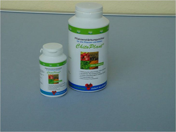 ChitoPlant® aus Chitosan. Wasserlösliches Chitosan für Pflanzen. Fibl konform
