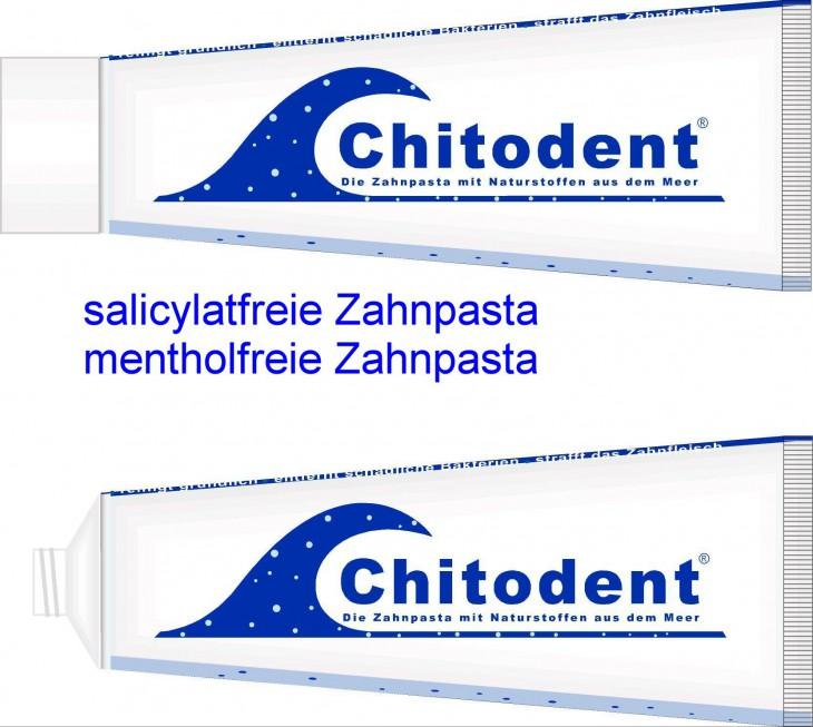 Chitodent® salicylatfreie Zahnpasta bei Salicylsäureunverträglichkeit, Salicylat-Unverträglichkeit, Salicylat-Intoleranz,